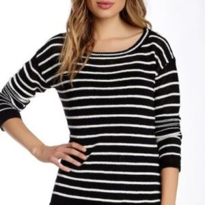 Alice Olivia Linen  Boxy Sweater Women M $242